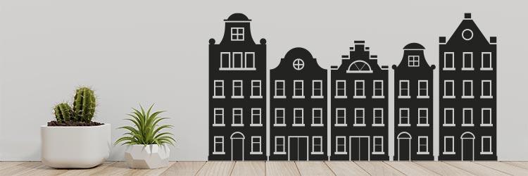 Muurstickers Raamstickers bekende beelden en gebouwen