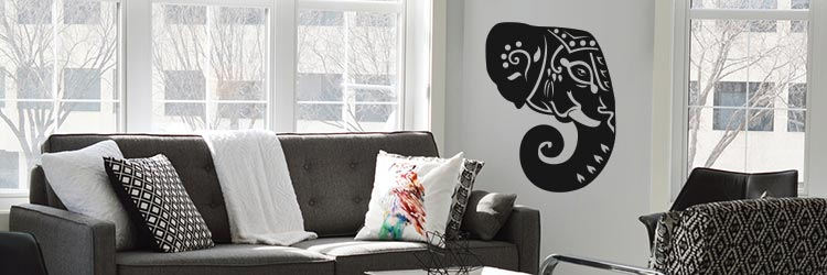 Muursticker raamstickers stickers olifanten