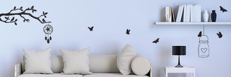 Raamfolie stickers raamstickers muurstickers vlinders vlinder bloemen
