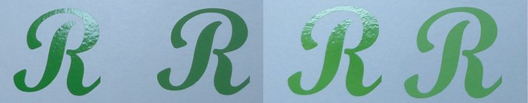 Sticker groen lime