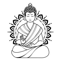 Boeddha lijnen