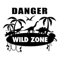 Danger wild zone