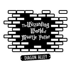 Harry potter - Diagon alley sticker muursticker raamsticker