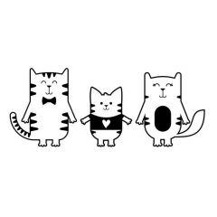 Familie kat