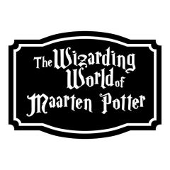 Frame The wizarding world of sticker raamsticker muursticker