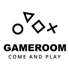 Gameroom playstation sticker deursticker