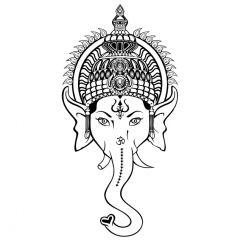 Ganesha hoofd
