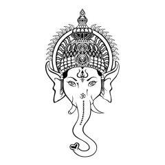 Uitverkoop Ganesha hoofd