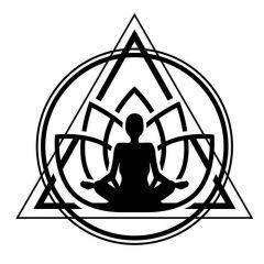 Geometrische vormen yoga