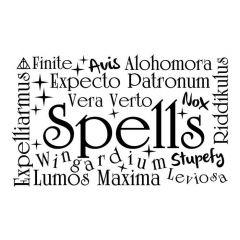 Harry Potter woordwolk spells