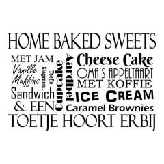 Home baked sweets