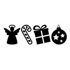 Kerst decoratie set