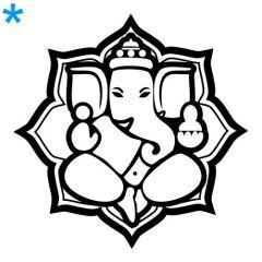 Kies je Ganesha lotusbloem