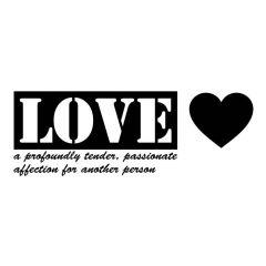 Uitverkoop Love a profoundly tender