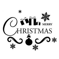 Merry christmas met cadeau