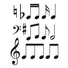 Muzieknoten set