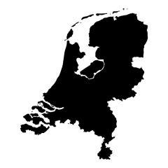 Nederland landkaart