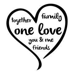 One love hart