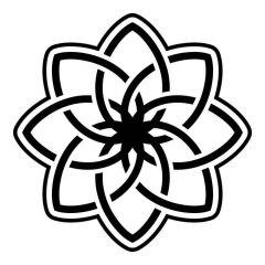 Ornament lotusbloem