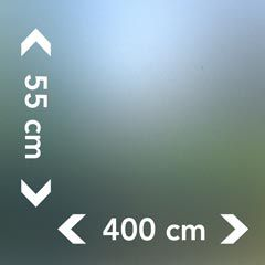 Raamfolie 55 cm hoog