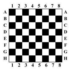 Schaakbord sticker muurstickers raamstickers
