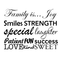Set woorden family is