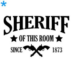 Sheriff of this town