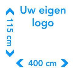 Sticker groot met logo