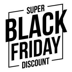 Super black Friday discount