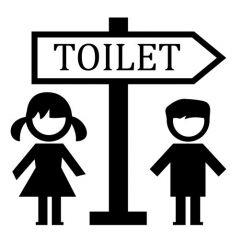Toilet pijl