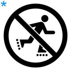 Verboden te skaten
