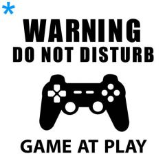 Warning game at play