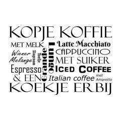 Woordwolk kopje koffie