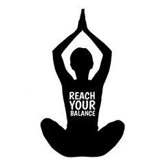 Yoga reach your balance