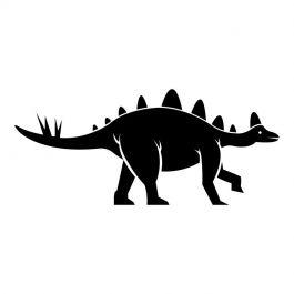Dinosaurus stegosaurus muursticker raamsticker